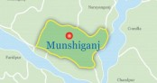 AL rebel candidate's camp set afire in Munshiganj