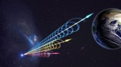 Mystery radio bursts traced to distant galaxy