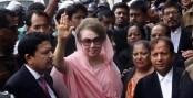 Khaleda asked to appear before court Feb 27 in 10 cases