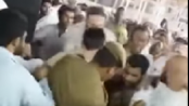A Man arrested for attempting to set himself alight in front of Kaaba:VIDEO