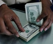 Dollar slips to three-year low